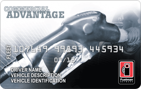 Fuelman commercial advantage card