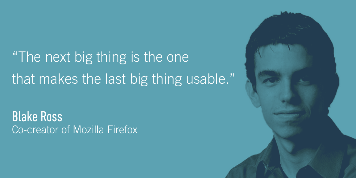 Blake Ross, Co-creator of Mozilla Firefox
