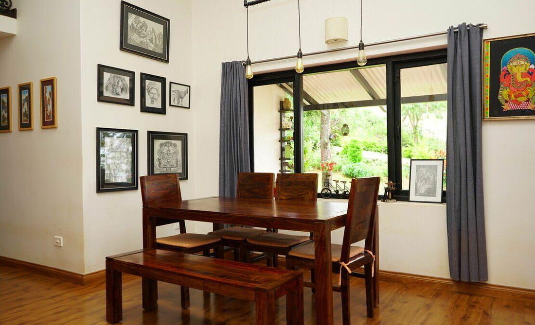 House in Sua Serenitea Malhar Dining room