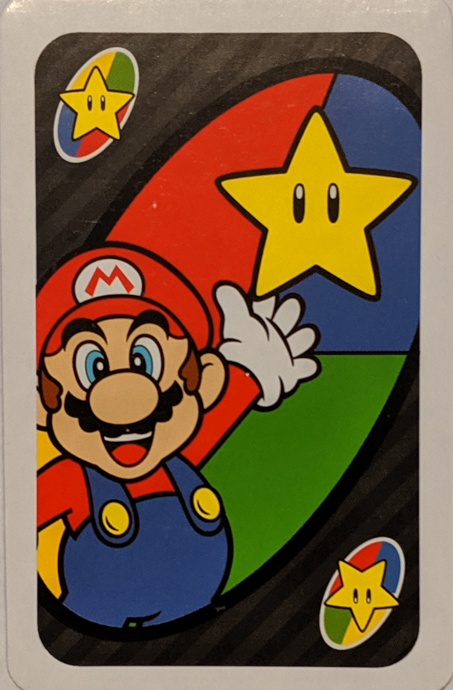 Super Mario Uno (Super Star Card)