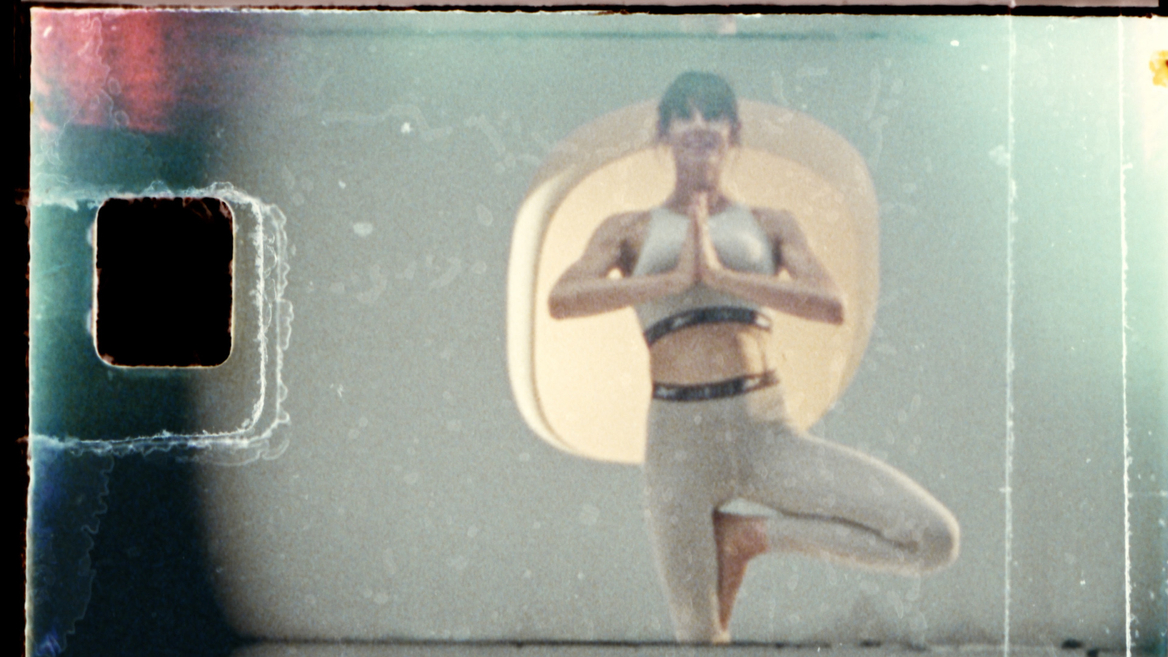 Les Mills Yoga For Now still with film artefact 1