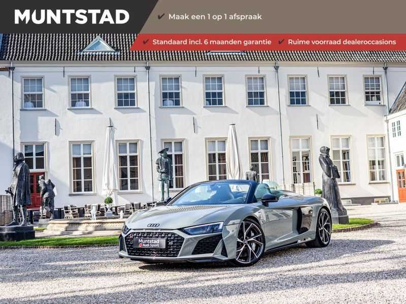 Audi R8 Spyder 5.2 performance quattro | 620PK | Magnetic Ride V10 | B&O sound | Carbon | Ceramic | Audi Exclusive | Garantie tot 07-2025*