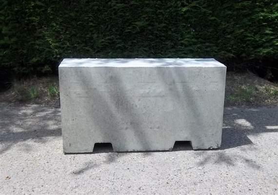 1.5m Concrete Barrier Block 2