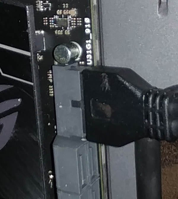 Connect USB to MB
