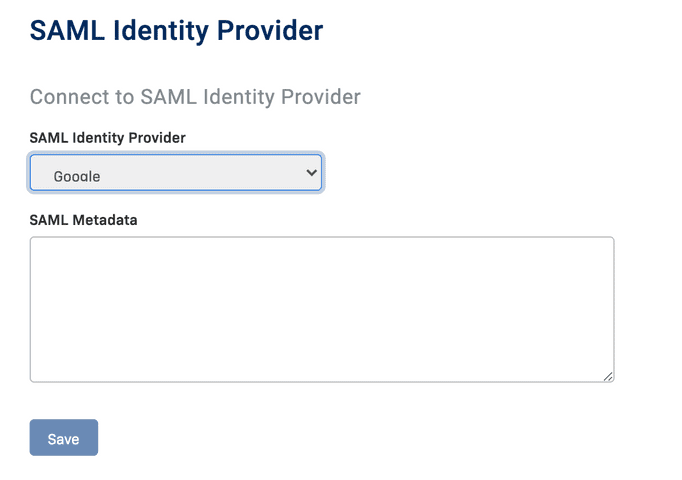 Single Sign On with Google Cloud Identity