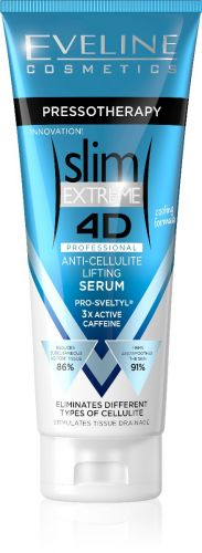 EVELINE Slim Extreme 4D Pressotherapy hűsítő hatású anticellulit lifting szérum koffeinnel 250 ml