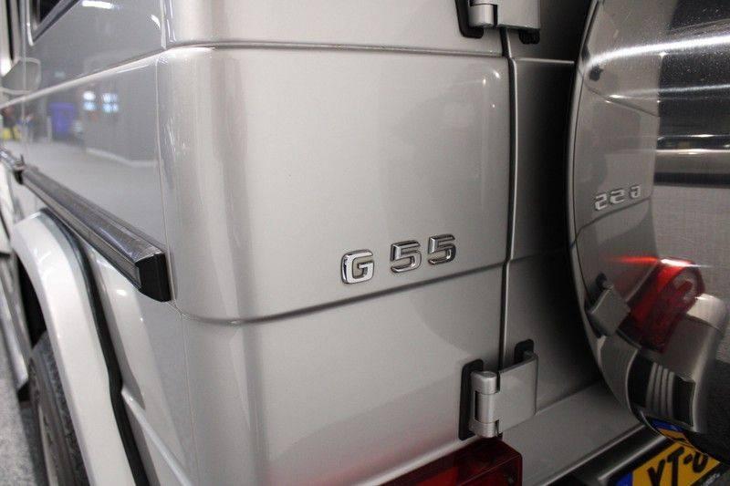 Mercedes-Benz G-Klasse 500 fabrieks 55-uitgev. Youngtimer aut. 7-zits afbeelding 19