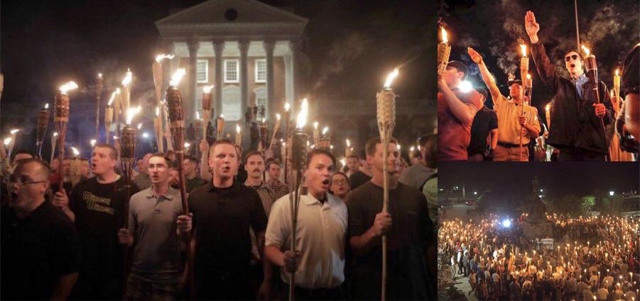Torchlit Neo-Nazi March