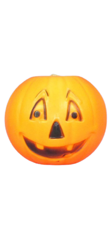 Conventional Face Electrified Pumpkin photo