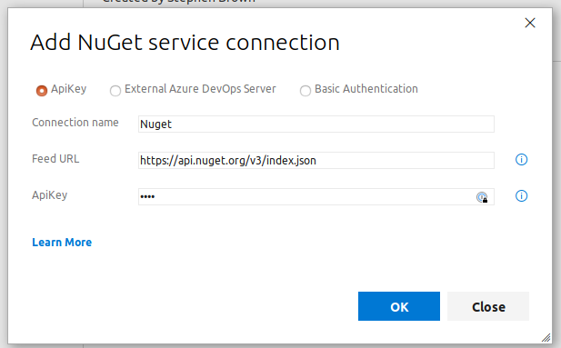 Nuget Connection
