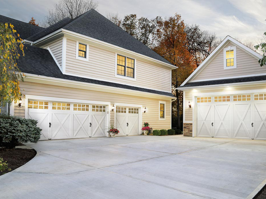 Replicating the beautiful allure of traditional carriage house doors is the specialty of this like-named company. With timeless wooden doors that echo the simplicity of days gone by, you'll find these doors to provide both stability and classic style.