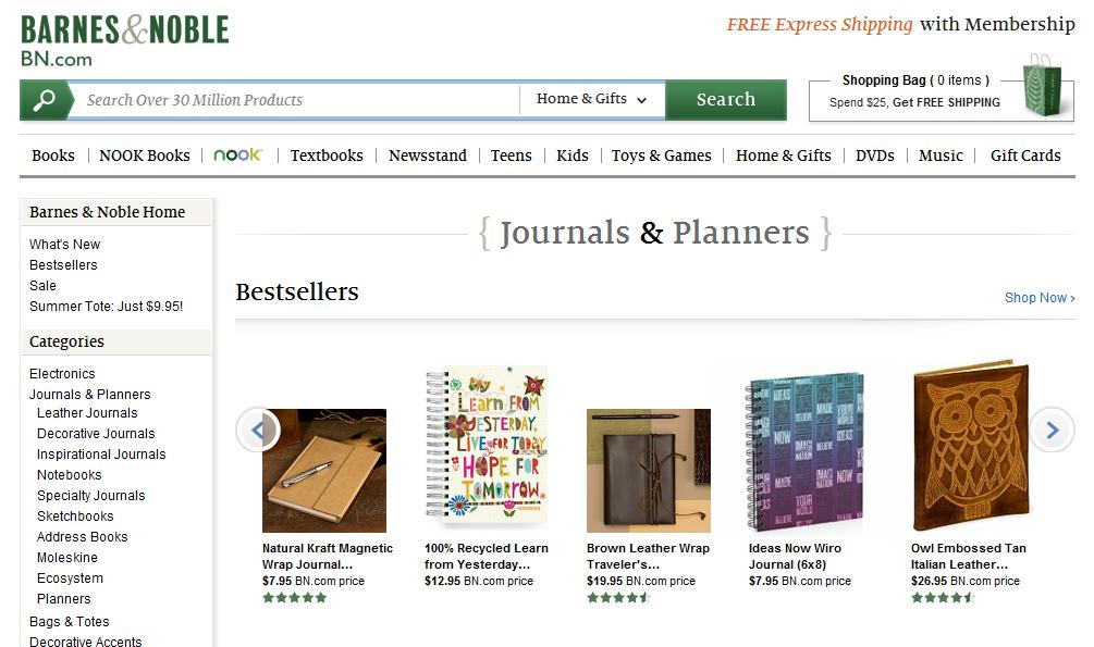 Ideas Now Journal on bn.com