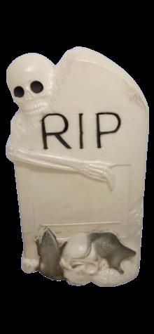 Halloween Tombstone photo