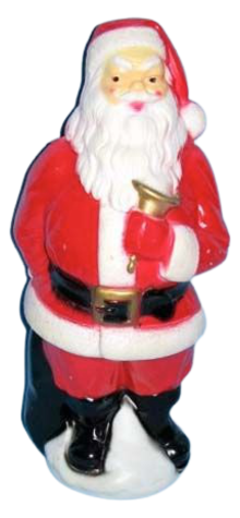 Santa With Bell photo