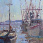 Shrimp Boats 12x12
