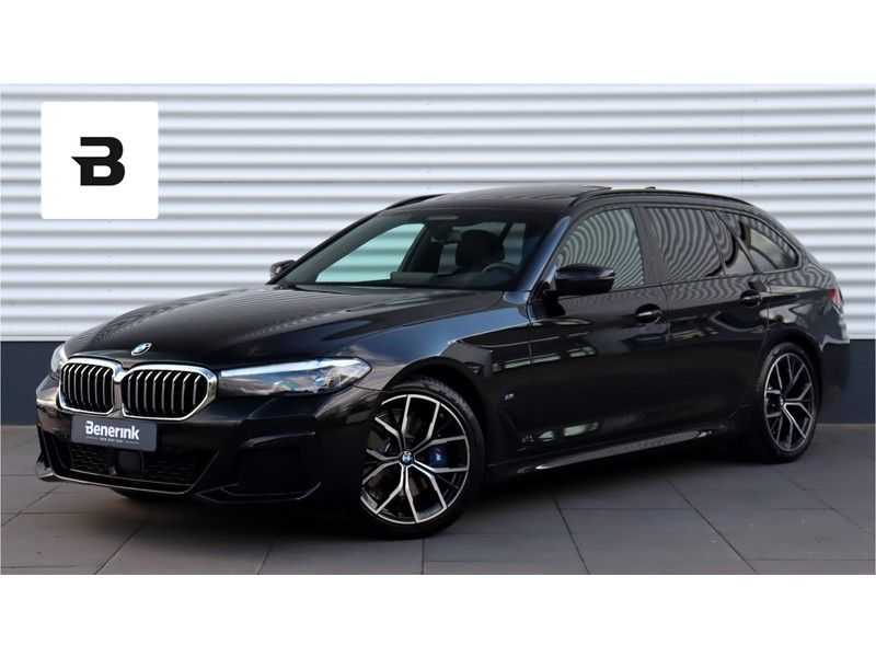 BMW 5 Serie Touring 530i High Executive M Sport Driving Assistant Prof, Head-Up Display, DAB, Memory afbeelding 1