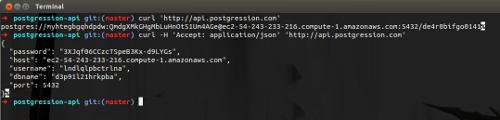postgression API