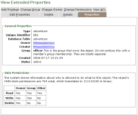 Property Pages Screenshot
