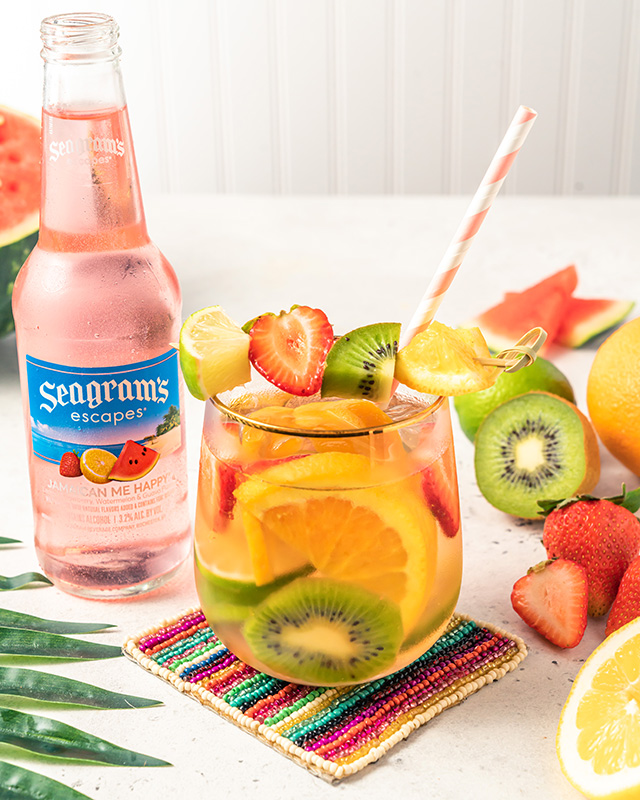 Tropical Sangria Recipe Image