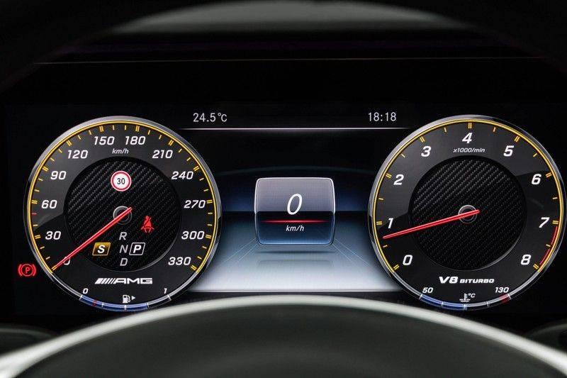 """Mercedes-Benz E-Klasse E63s AMG 4Matic 612pk Panoramadak Distronic Schaalstoelen Burmester ComandOnline Keyless 20"""" Parktronic Pdc VerlengdeGarantie t/m 03/2022 afbeelding 22"""
