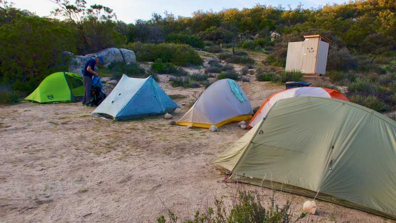Tents at Mary's Place