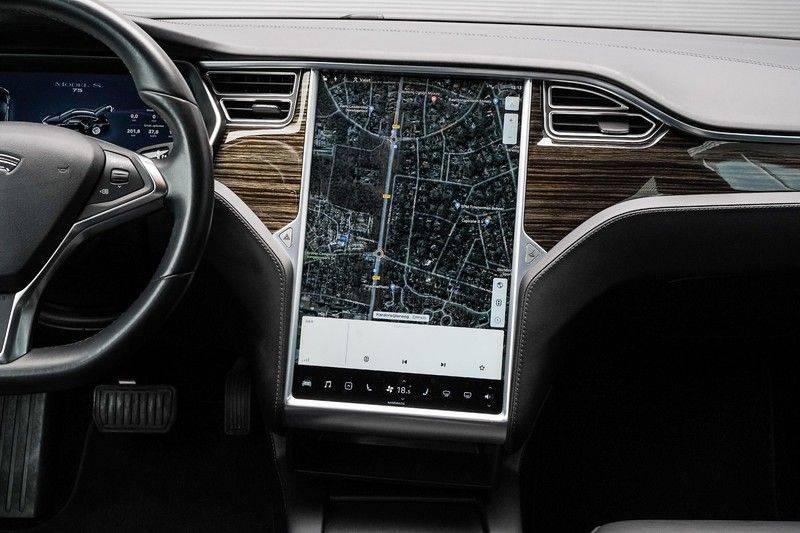 Tesla Model S 75 Excl. BTW. Autopilot Navi Leer Camera afbeelding 18
