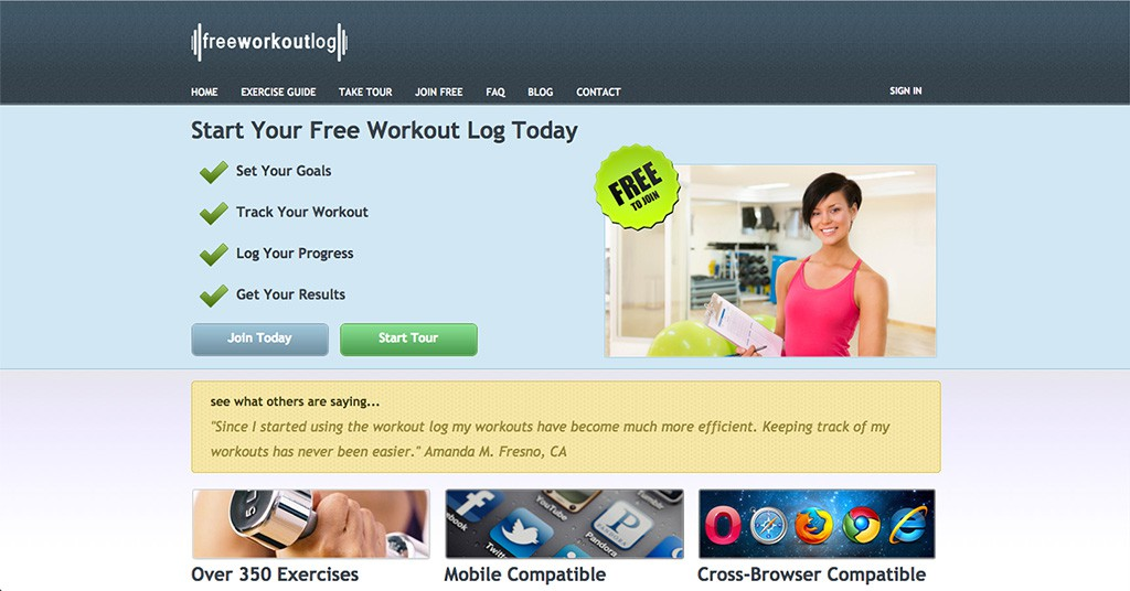 FreeWorkoutLog