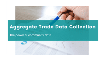Aggregate trade data collection notification