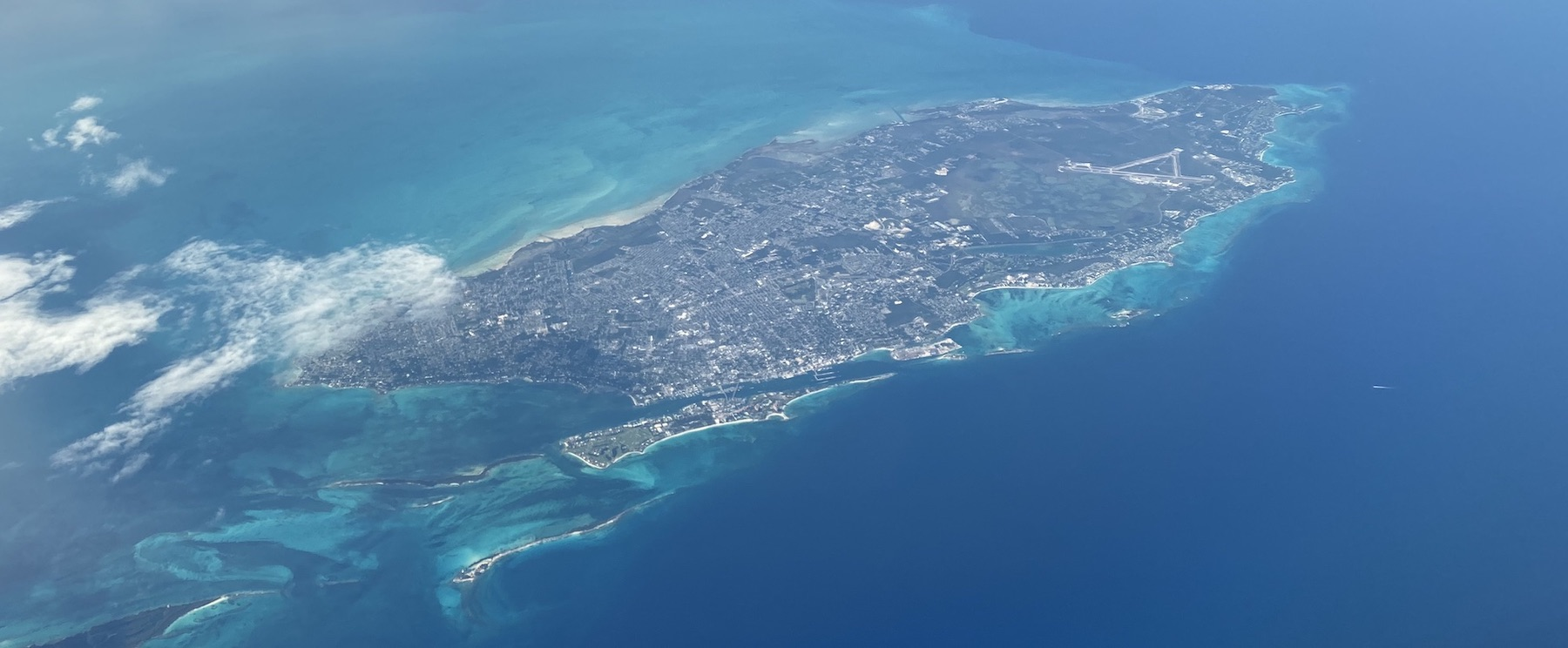 New Providence — home to the capital, Nassau