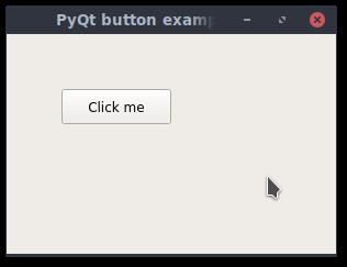 pyqt button