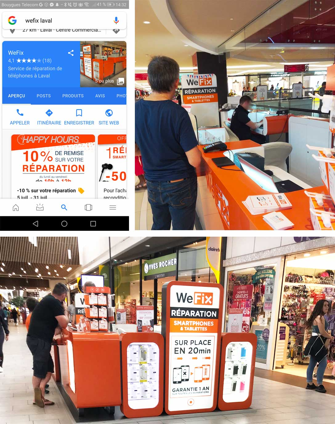 Customer case: our response to Fnac Darty's problem to evaluate the omnichannel experience provided by WeFix.
