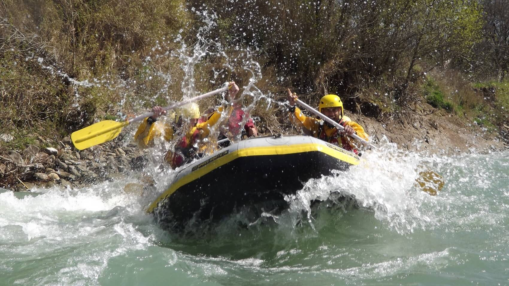 Rafting in Bhotekoshi