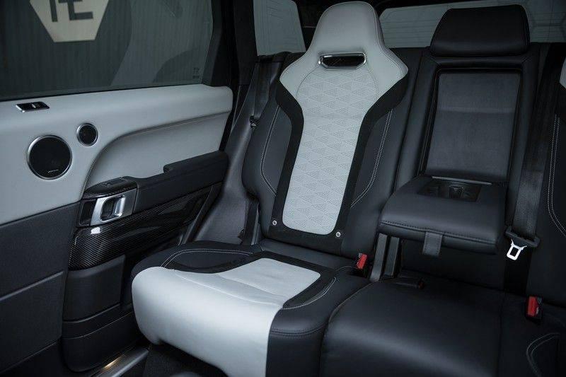 "Land Rover Range Rover Sport P575 SVR 'Solid Gloss Avocado' Carbon SVR motorkap + Drive Pro Pack + Panoramadak + 22"" + Stoelkoeling + Head-Up + Stuurwielverwarming + Carbon interieur afbeelding 15"