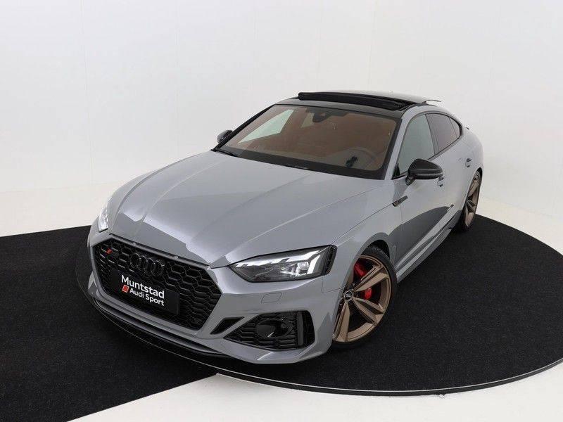 Audi RS5 Sportback 2.9 TFSI quattro | 450PK | Panoramadak | Stoelventilatie/verwarming | Bang & Olufsen | Top view camera | Matrix LED Laser | RS Sportuitlaat | 20'' inch brons | Verlengde fabrieksgarantie afbeelding 2