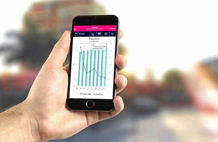 SingStat mobile app