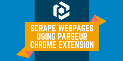 Cover image for How to scrape web pages using Parseur Chrome Extension