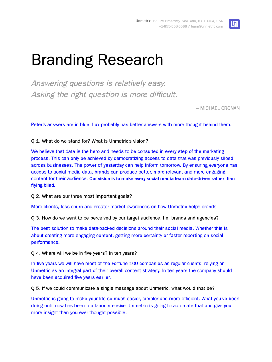 Branding research doc we shared with head of marketing