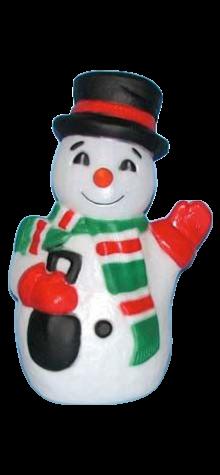 Merry Snowman photo