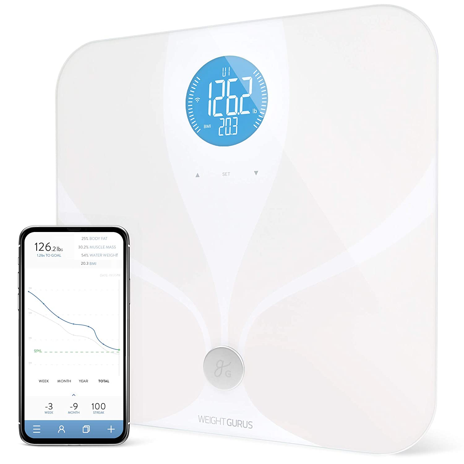 GreaterGoods WiFi Scale