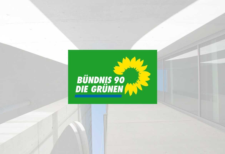 Bündnis 90/Die Grünen Logo Fullscreen