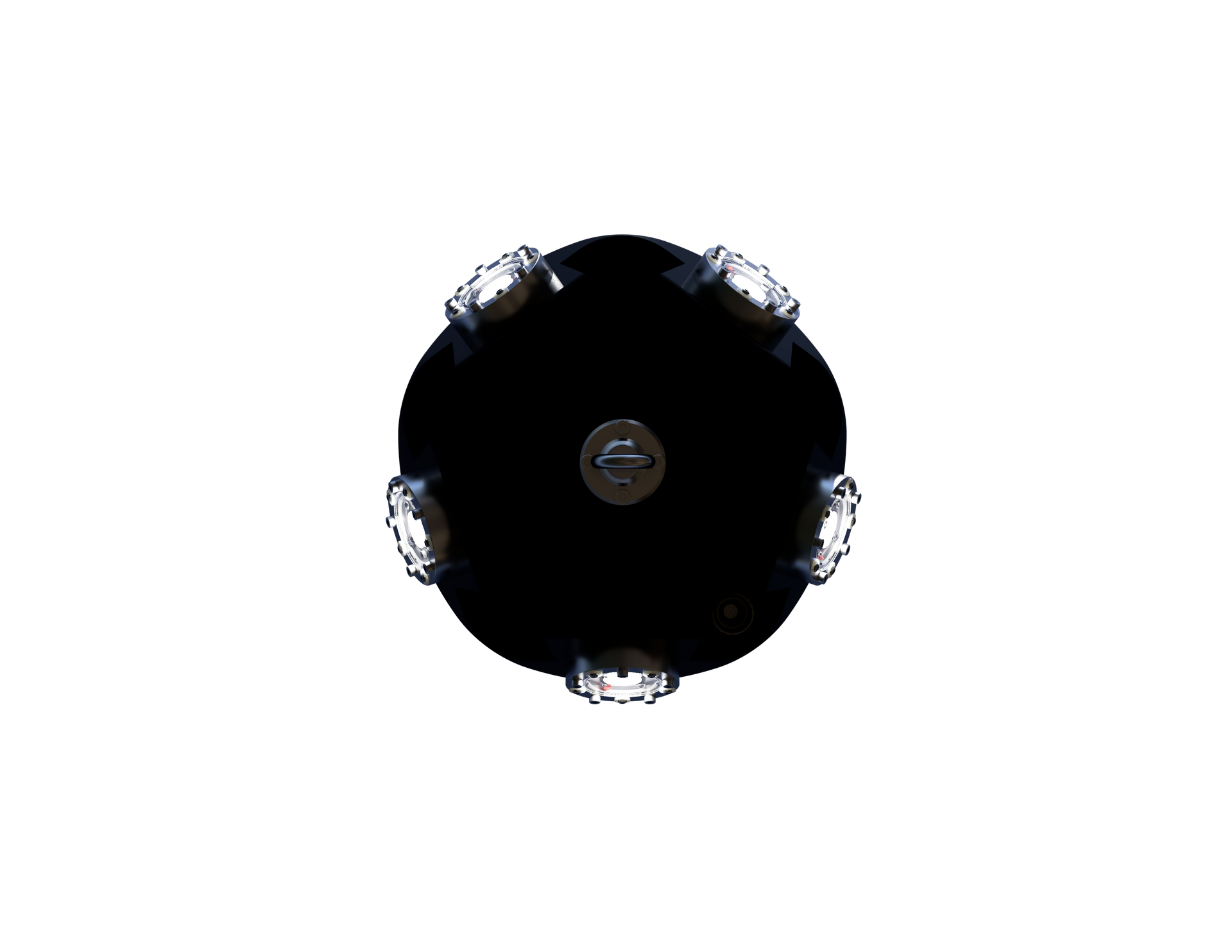 Quintus LED seen from below
