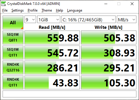 Boot Disk Benchmarks