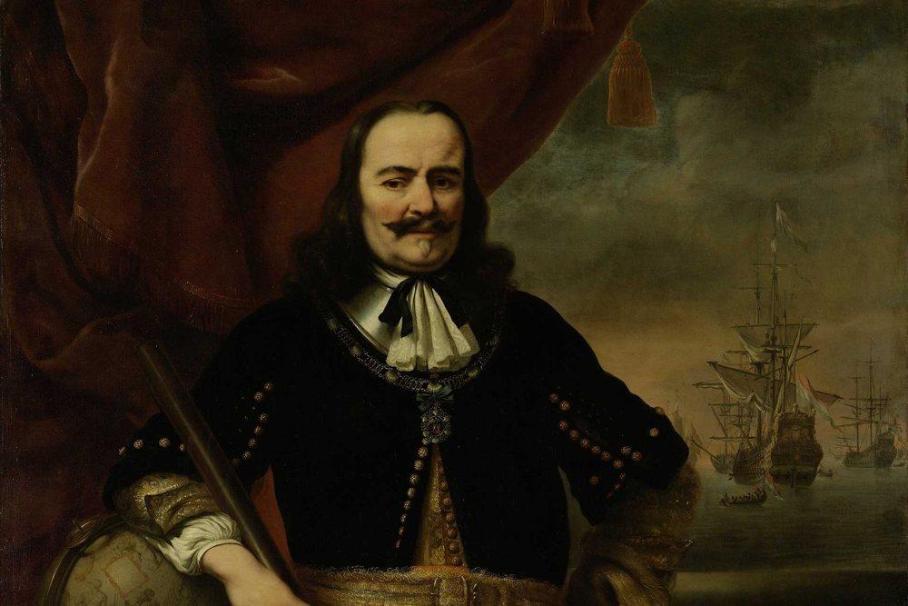 Portret van Michiel de Ruyter