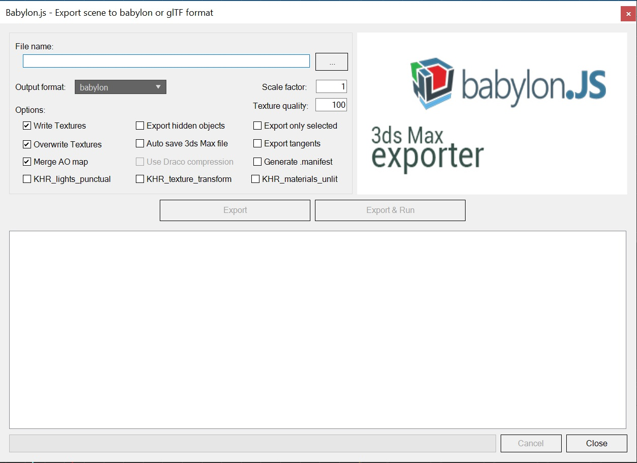 3ds Babylon Exporter