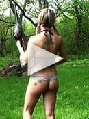 Nikki Paintball Video