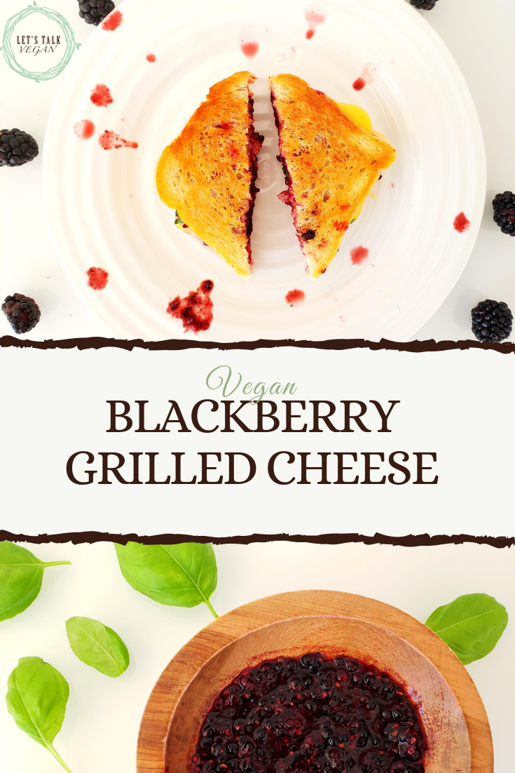 Blackberry grilled cheese