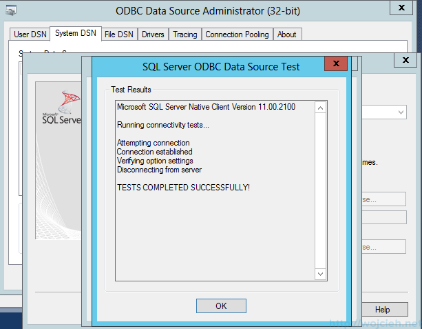 VMware vSphere Update Manager - 32 bit DSN 5