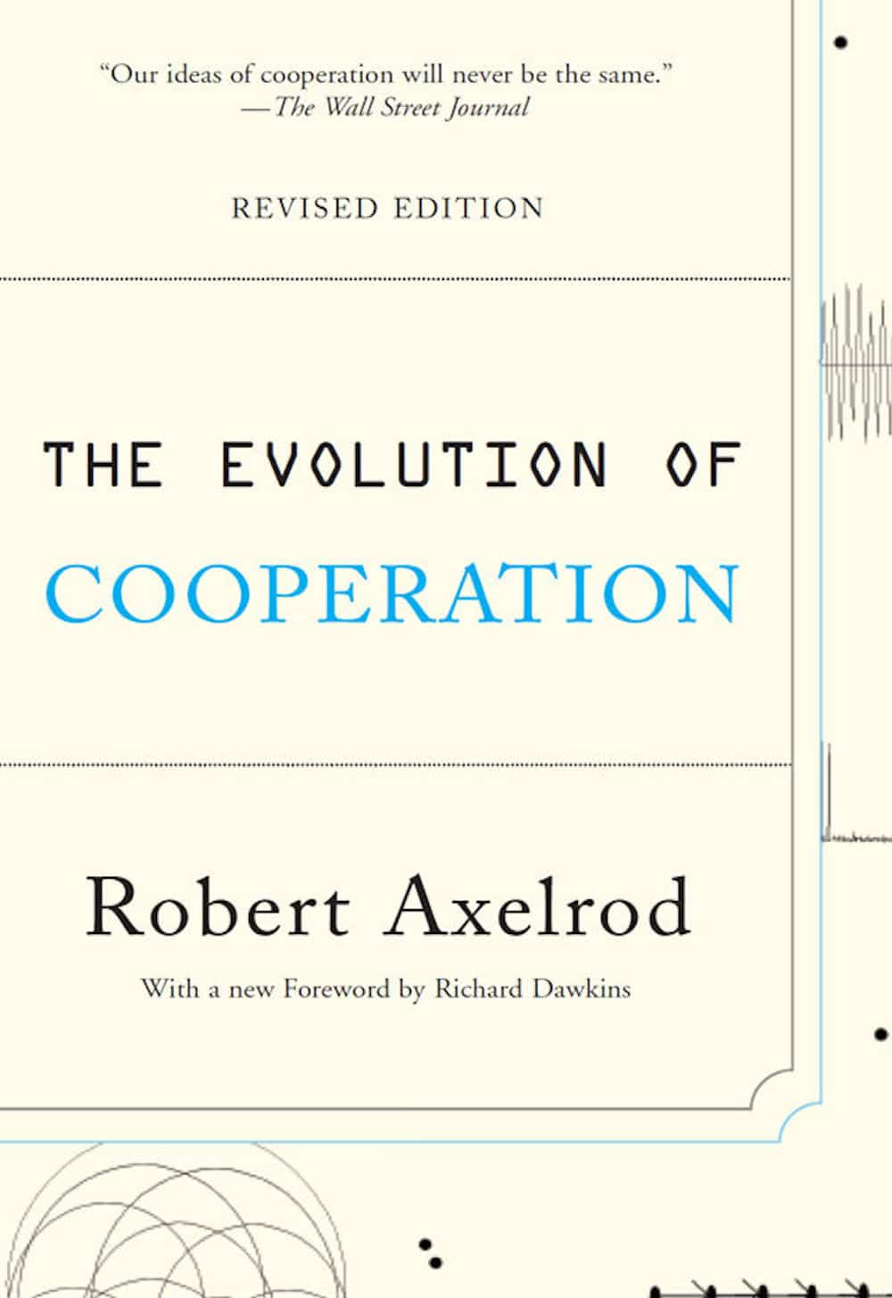 The cover of The Evolution of Cooperation