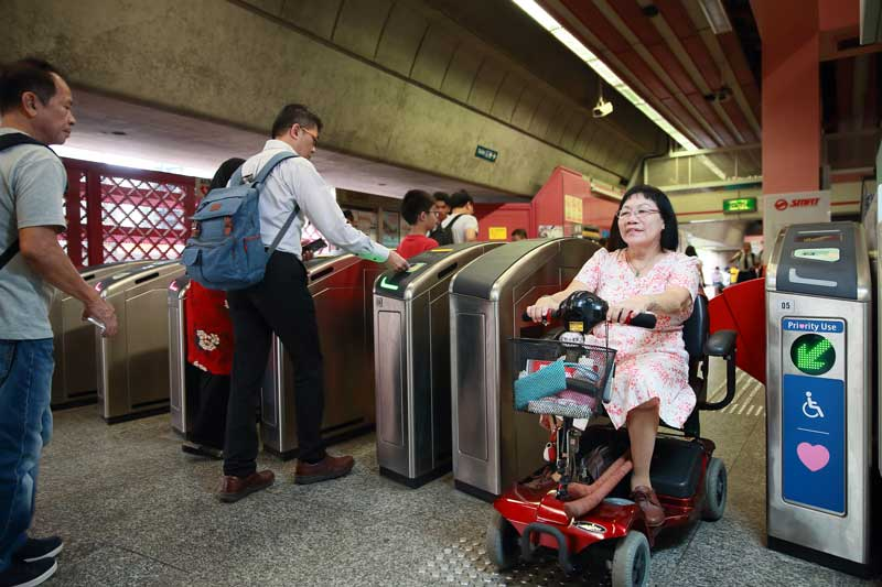 hands free ticketing trial