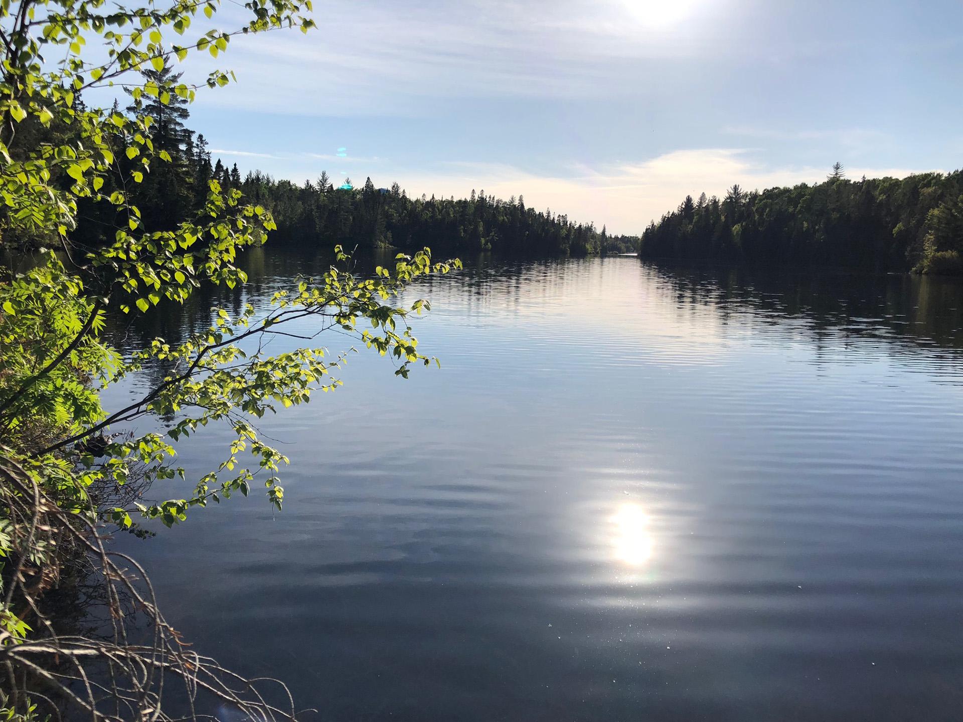 Lac Marco en été
